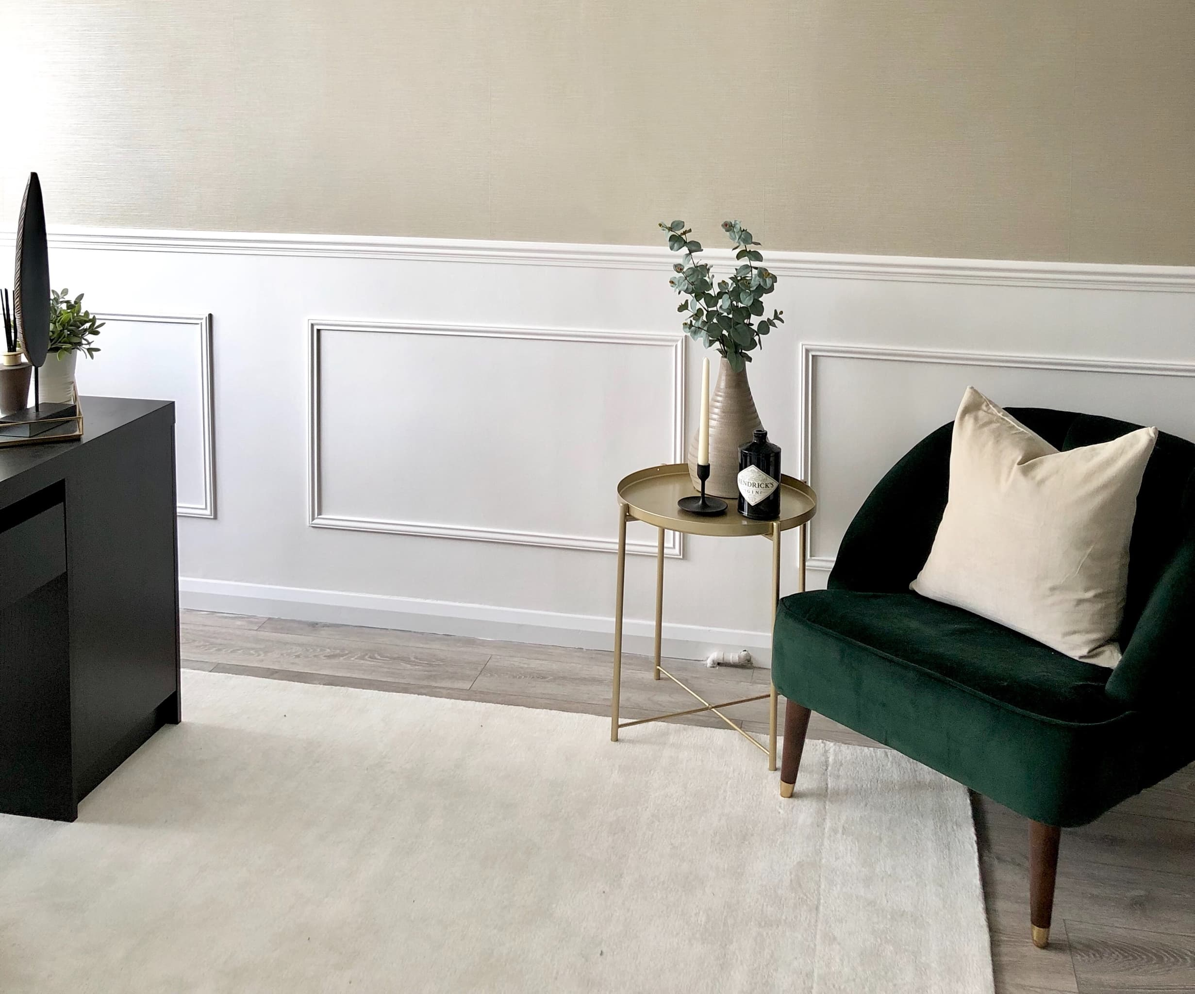 Diy Wall Panelling Tutorial Interior